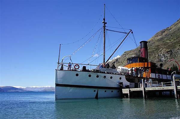 古董蒸氣遊輪恩斯勞號