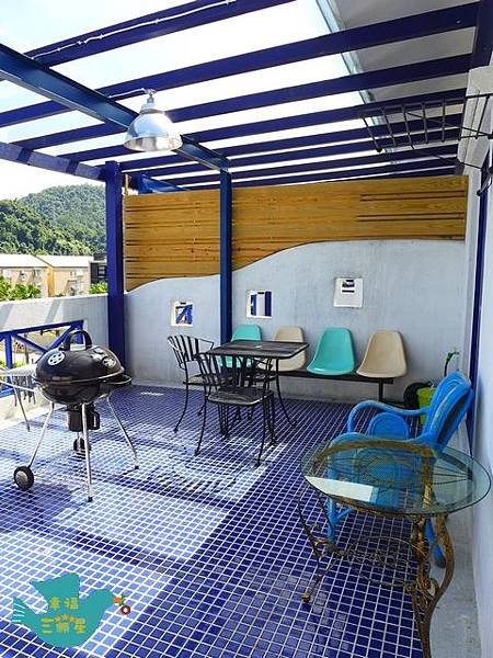 幸福3F空間-露台烤肉區