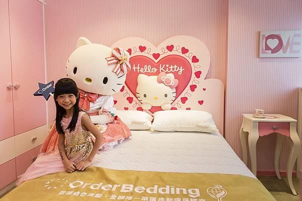 Order傢俱集團打造Hello Kitty公主新家