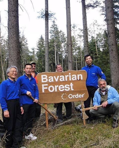 歐德集團在德國植樹造林