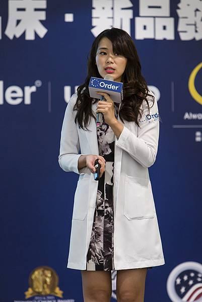 美女醫師陳欣湄美麗現身談如何睡好覺-修