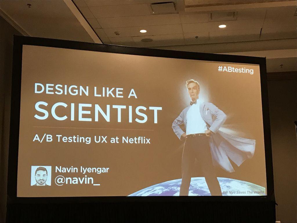 西南偏南 SXSW 直擊:Netflix 的 A/B Testing