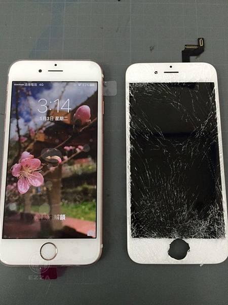 IPHONE 6S 面板破裂