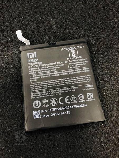 小米5電池更換