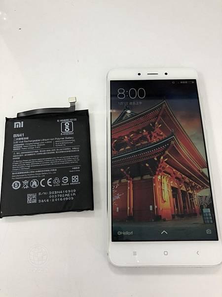 紅米NOTE4電池更換 (1)