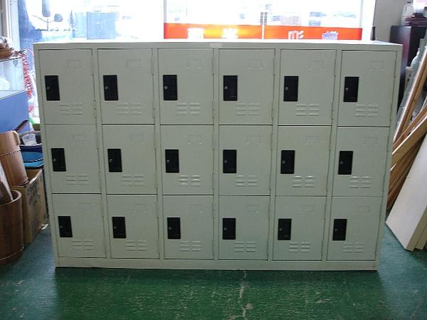 18格內務鐵櫃