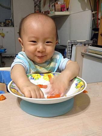 試用Baby Diner Dish Holder