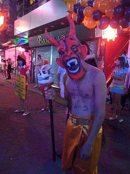 反正...今天的Pattaya什麼鬼都有~