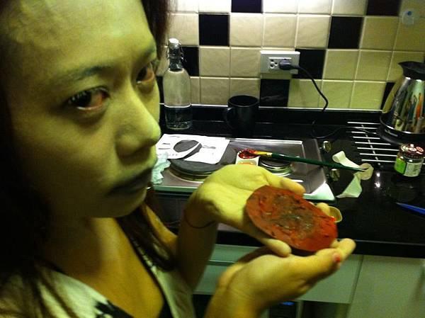 Monica與她的爛肉XD