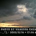 2012-08-16 烏雲密佈,照常運動去