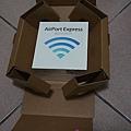 一體成型的防撞包材 @ AirPort Express
