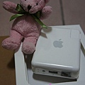 Audio Port、USB Port、LAN Port @ AirPort Express