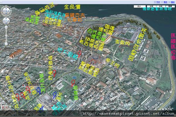 [Map] 伊斯坦但 İstanbul 舊城區