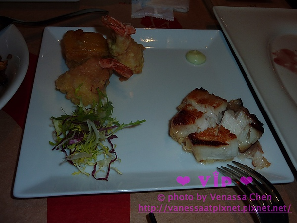 印月.炸物,太黃一葉蝦,圓鱈