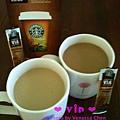 哪一杯是熱拿鐵?哪一杯是溫拿鐵呢? @ Starbucks VIA™ Ready Brew Colombia Coffee