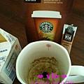 多攪拌個N下,還是可溶成冰拿鐵 @ Starbucks VIA™ Ready Brew Colombia Coffee