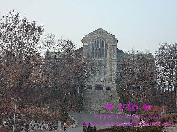 梨花女子大學.教堂Welch-Ryang Auditorium。