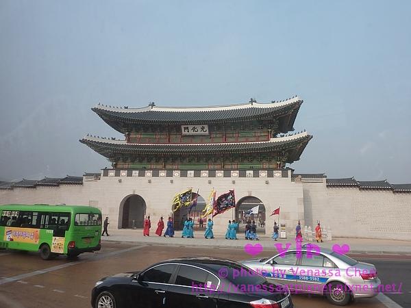 光化門:景福宮的大門。