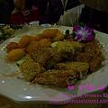 雙拼盤(手工南瓜酥+金皇芝麻蝦餅)@2011虎年尾牙