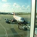 我們搭的歐陸飛機-EasyJet