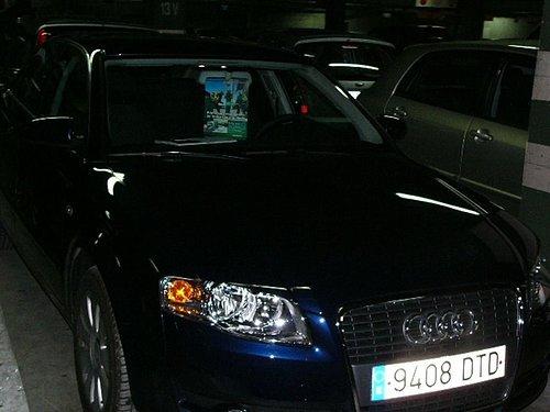 在西班牙的愛車Audi A4
