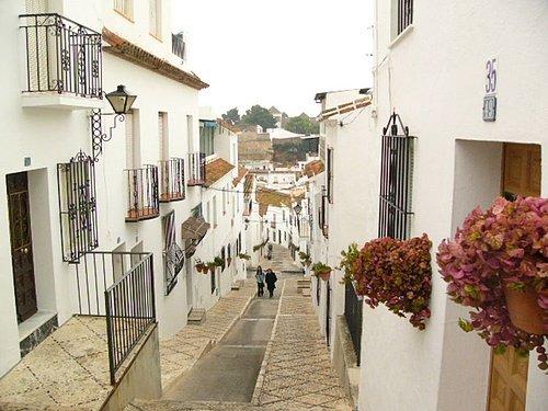 Mijas的街道