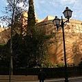 Alhambra王宮的外圍圍牆