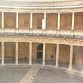 Alhambra王宮的廣場