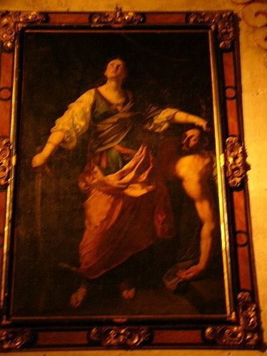 教堂內竟擺著這幅很血腥的畫
