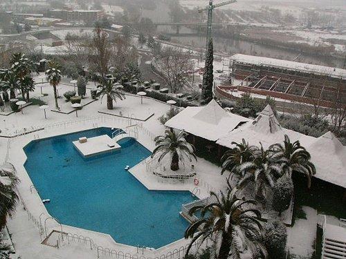 Toledo飯店的游泳池