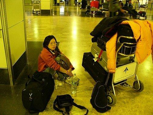 Shopping後的行李