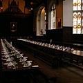 King's College 飯廳 (很像哈利波特裡的飯廳吧
