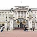 白金漢宮的大門