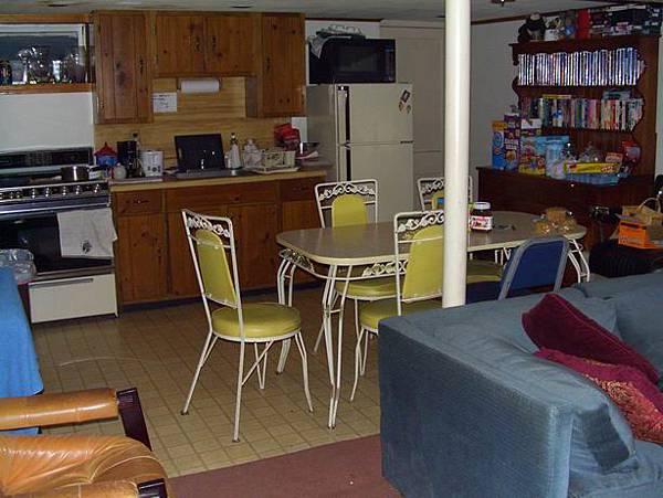 student's kitchen