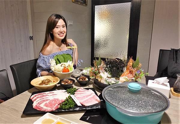 《飛驒牛釧井海鮮鍋物》原汁原味飛驒牛燒肉串台北吃的到!巨無霸波士頓龍蝦
