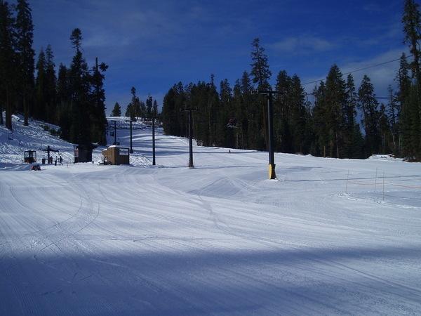 第二天乾淨的雪道~