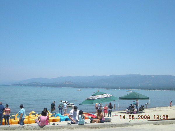 LAKE TAHOE到了