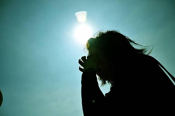 太陽好大呀~
