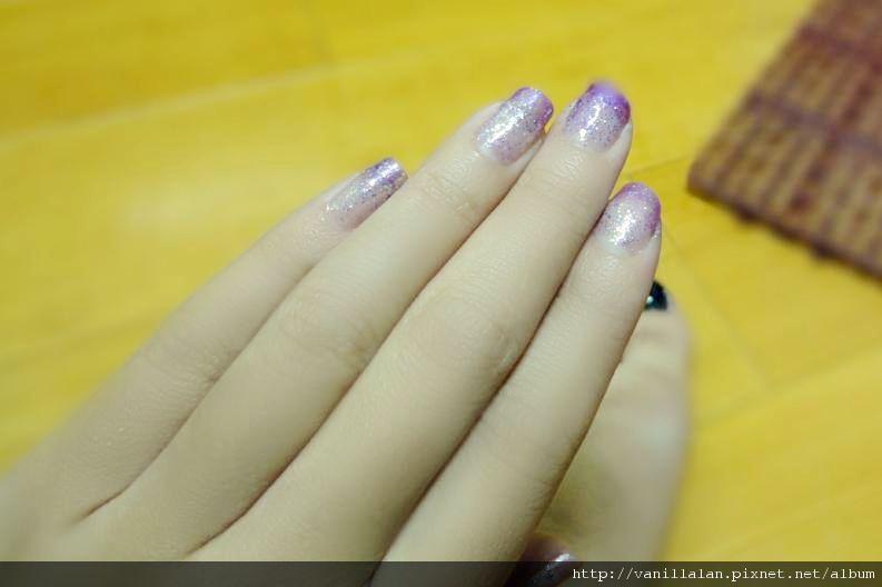 Nail指甲油試塗完成品