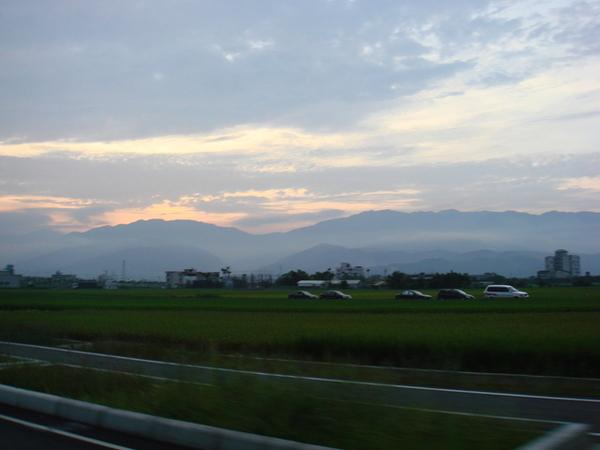 夕陽-蘭陽美景