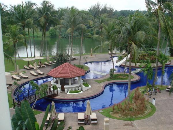 吉隆坡住的飯店....很有度假感
