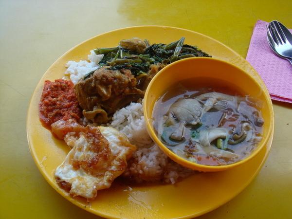 馬來西亞高速公路休息站的自助餐..我的最愛