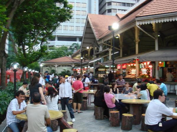 新加坡綜合美食街