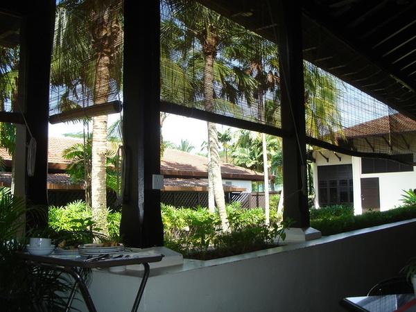吉隆坡我住的飯店風景