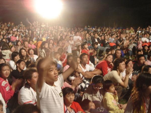 現場的觀眾...
