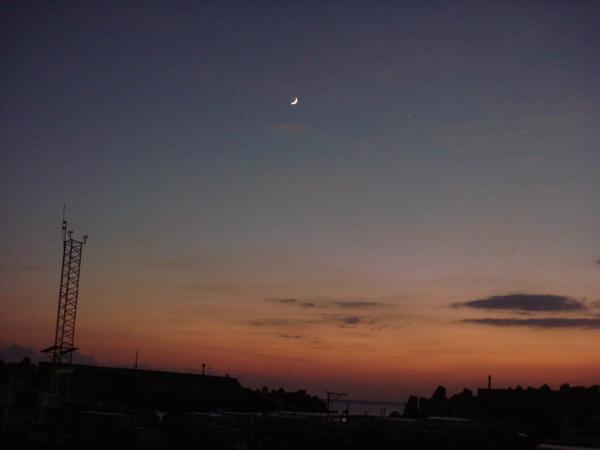 恆春傍晚的月光!!!!