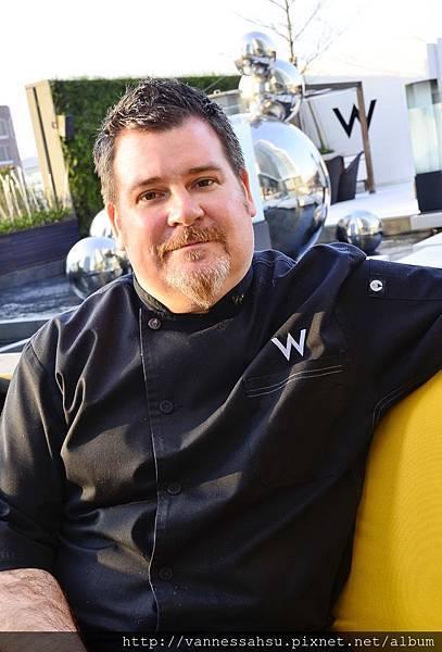 新加坡聖淘沙灣W酒店行政總主廚伍福德(Chef Matthew Woolford)