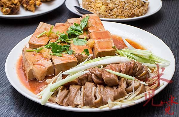 滷豆腐拼盤