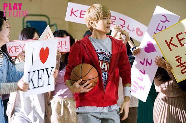 2012Etude house kiss note key8