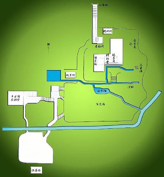 map 詩仙堂